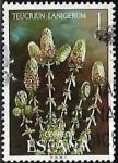 Stamps Europe - Spain -  Flora - Teucrium Lanigerum