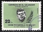 de America - El Salvador -  John F. Kennedy (1917-1963)