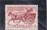 Stamps : Europe : Netherlands :  carreta