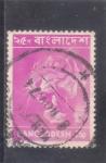 Stamps : Asia : Bangladesh :  tigre