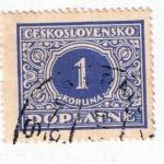 Stamps Europe - Czechoslovakia -  Doplatne