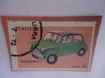 de Asia - Nagaland -  Mini Minor 1970 - Nagalan (India)-Serie:Negaland-Emisión:Cenicienta-Tema:Coche