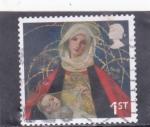 Stamps Europe - United Kingdom -  VIRGEN Y EL NIÑO