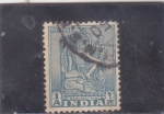 Stamps India -  IDOLO BOOHISATTVA