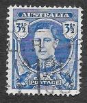 de Oceania - Australia -  195 - Rey Jorge VI