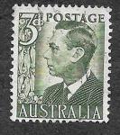 de Oceania - Australia -  233 - Jorge VI
