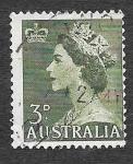 Sellos de Oceania - Australia -  257 - Reina Isabel II