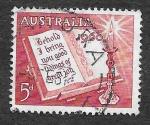 Sellos de Oceania - Australia -  339 - 350 Aniversario de la Traducción de la Biblia por King James