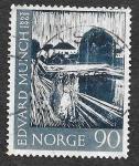Sellos del Mundo : Europa : Noruega :  449 - Pinturas de Edvard Munch