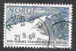 Sellos del Mundo : Europa : Noruega :  512 - Centenario de la Asociación Noruega de Turismo de Montaña