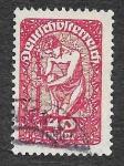 Stamps Austria -  212 - Alegoría