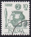 Stamps : Europe : Poland :  artefactos siglo 13