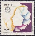 Sellos de America - Brasil -  Rotary International