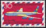 Sellos de Europa - Alemania -  50 años correo aéreo