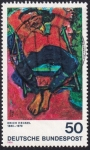 Stamps Germany -  Erich Heckel