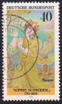 Stamps : Europe : Germany :  Sophie Schröder