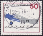 Sellos de Europa - Alemania -  50 años Deutsche Lufthansa