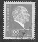 Sellos de Asia - Turquía -  1924 - Mustafá Kemal Atatürk