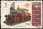 Stamps Brazil -  Centenario de la fundación de la Companía Paulista Estradas de Ferro.