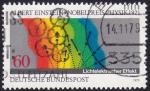Stamps : Europe : Germany :  A.Einstein, Premio Nobel Física