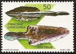 Sellos del Mundo : Europa : Andorra : Andorra Prehistórica - puntas de lanza