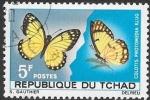 Sellos del Mundo : Africa : Chad : mariposas