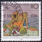 Sellos de Europa - Alemania -  1000 años Bad Frankenhausen