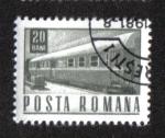 Sellos de Europa - Rumania -  Postal y transporte
