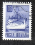 Stamps Romania -  Postal y transporte