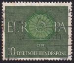 Sellos de Europa - Alemania -  Europa 1960