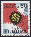 Sellos de Europa - Alemania -  Europa 1967