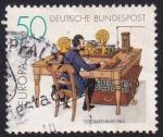Sellos de Europa - Alemania -  oficina de telégrafos