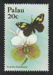 sello : Oceania : Palau : 1758 - Orquídea, Euanthe sanderiana