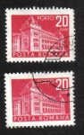 Stamps Romania -  Correos y telecomunicaciones I