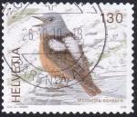 Sellos de Europa - Suiza -  monticola saxtalis