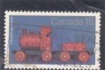 Stamps Canada -  TREN DE MADERA