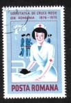 Stamps Romania -  Centenario de la Cruz Roja Rumana
