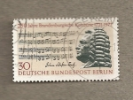 Sellos de Europa - Alemania -  250 años conciertos Brandenburgo