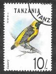 Sellos de Africa - Tanzania -  979 - Canario Silvestre