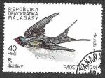 Stamps Madagascar -  1029 - Golondrina Común
