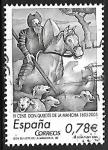 Sellos del Mundo : Europa : España : IV Cent. Don Quijote de la Mancha