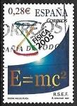 Sellos del Mundo : Europa : España : Física 2005