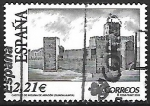 Sellos del Mundo : Europa : España : Castillo de Molina de Aragón. Guadalajara