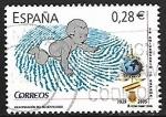 Sellos del Mundo : Europa : España : Identificación del recién nacido