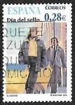 Sellos del Mundo : Europa : España : Día del sello