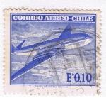 Sellos del Mundo : America : Chile :  Correo Aereo 4