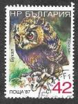 Sellos del Mundo : Europa : Bulgaria : 3328F - Búho Real