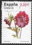 sello : Europa : España : flores