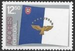 sello : Europa : Portugal : bandera da Azores