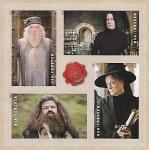 Sellos de America - Estados Unidos -  Los profesores de Hogwarts